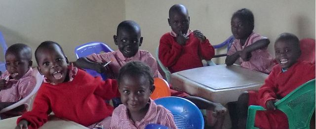 The future of the Wanga Kingdom: some AbaWanga Children at School.
